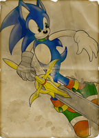 Sonic, Knight of the Wind w/FX by SonicRemix