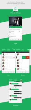 WhatsAppRedesign by asimabbas