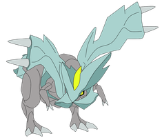 kyurem draw by javierini
