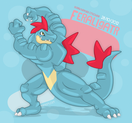 The Anthro Feraligatr by Chirros