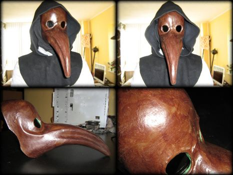Plague Doctor Mask by Hellwolve