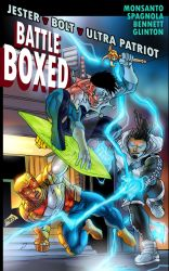 Battle Boxed #10 cover -- Triple Threat