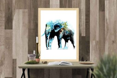 Elephant abstract by rev-Jesse-C