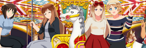APH - Carousel  by Chantalwut