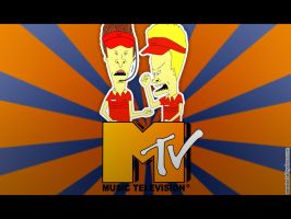 Wall beavis and butthead 02 by mc06x