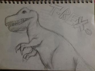 I drew this at the Brisbane museum  by IssyInked