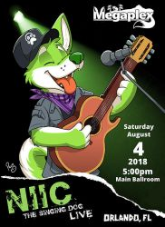 NIIC The Singing Dog Live! by pandapaco