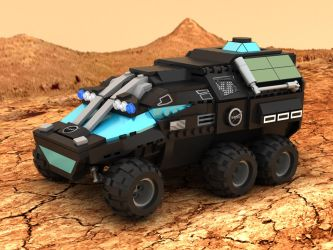 Mars Rover Concept Vehicle 01 by Steam-HeART