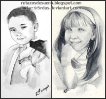 Portraits commissioned by Lucia-95RduS