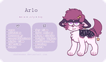 Arlo - Reference Sheet by obakesama