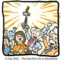 Bacon is the God Particle by SquidMantis