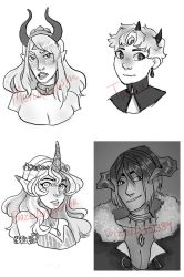 Bust gifts  / artifacted gods by Gasuma