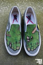 Zombie Shoes by mburk