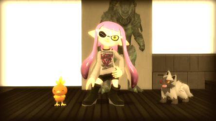 Lily also got herself a Sploon 2 redesign by NitsuaTribalGod