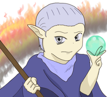 Eladrin Mage by tacotown