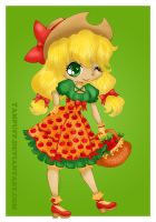 Apple Jack lolita by Hotaru-oz