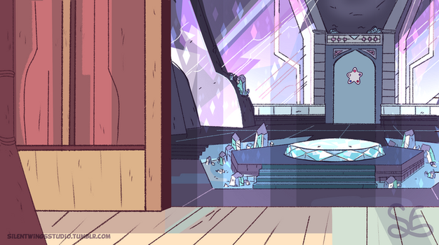 Steven Universe Background: Warp Pad by Sigma-the-Enigma