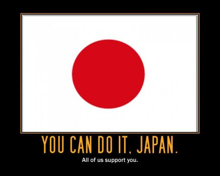 Japan Support Poster by Dark-Red-Z