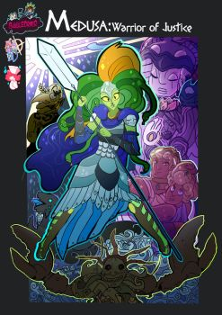 Medusa:Warrior of Justice the Graphic novel by BubbleDriver