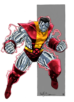 Colossus by arissuparmanart