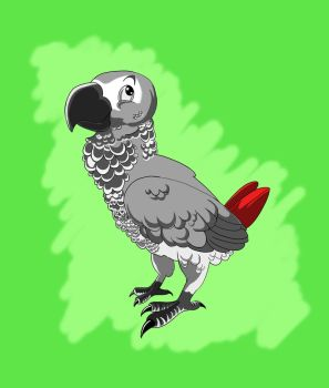 Perky parrot by adam-ant2