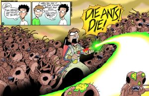 Die Ants by JPurcell