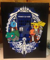 Pokemon Doctors Duct Tape Art by DuctTapeDesigns