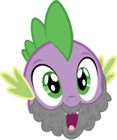 Bearded Spike is best Spike. Obviously. by AxemGR