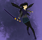 Fumiko the Spriggan by misty-and-ocean