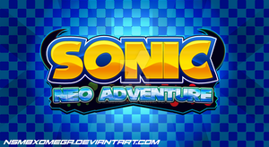 Sonic Neo Adventure - Official Logo by NSMBXomega