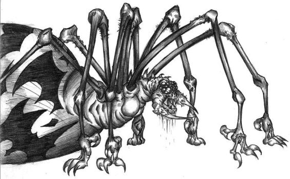 Shelob by loganneverscars