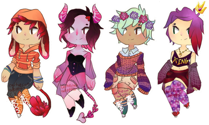 Set Price Adopts [1/4 OPEN] by caitiecat-adopts