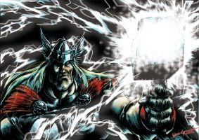 THE MIGHTY THOR by DOCGOOSE