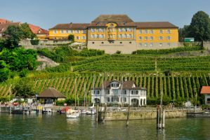 Meersburg from the Bodensee by wildplaces