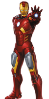 Iron Man PNG by CaptainJackHarkness