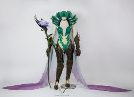 Dryad mage, Elderwood LeBlanc by Fairytas