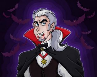 Vlad as vampire at Halloween by kaitlynrager