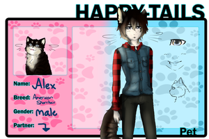 Happy Tails: Alex by JazuNeon