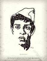 Art Tribute to the Legendary Indian Actor Nagesh! by sivadigitalart
