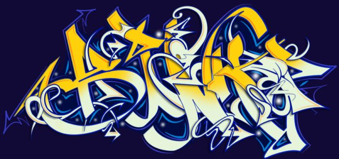 Photoshop Graffiti by fabiomayumi