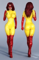 Character Reference Firestar by tiangtam