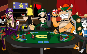 Poker Night by Ryanstoons