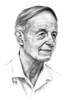 A beautiful mind - John Nash by subhankar-biswas