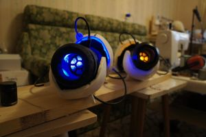 Twin Portal Guns(almost finished) by artbetep