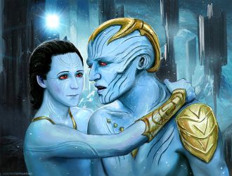 Laufey and Loki. Shine Bright in the Daylight. by Develv