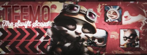Teemo, The Swift Scout (Facebook Cover) by PrincesaNela