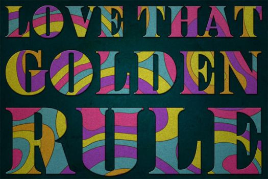 Love that golden rule by Half-PintDesigns