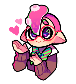 Octo boy by Blushily