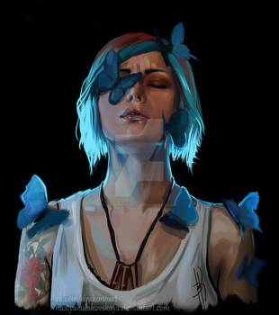 Chloe Price by NastyaSkaya