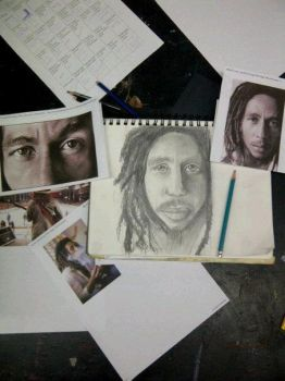 Bob Marley by Hey-Bud-Joey